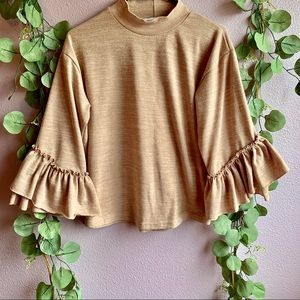 Sweaters - Oversized Sleeves Sweater